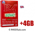 R4 3DS UK – for the Nintendo 3DS console